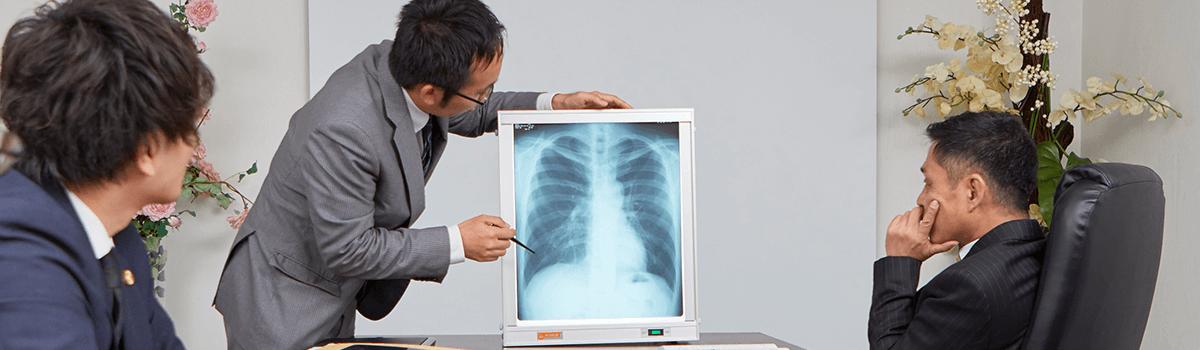 医学博士の学位をもつ弁護士在籍で高度な医学論争に対応