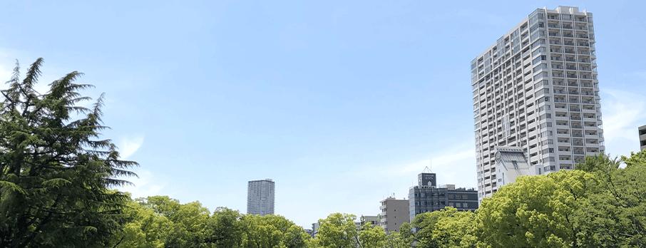 大阪駅徒歩6分、東梅田駅徒歩3分